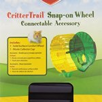 Kaytee-CritterTrail-Snap-On-Comfort-Wheel-Colors-Vary-0-2