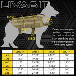 LIVABIT-Canine-Service-Dog-Tactical-Molle-Vest-Harness-Morale-PVC-Patches-Matching-Heavy-Duty-Bungee-Leash-Strap-Also-for-Cats-Puppies-0-1