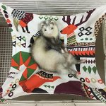 Margelo-Ferret-Hammock-Cat-Rattan-Hammock-Bed-Made-by-Natural-Fibre-Soft-Cool-and-Comfortable-Pet-Mat-Pad-Hammock-Use-with-Cage-for-Kitten-Cat-or-Small-Animals-Colour-0