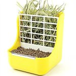 Misyue-Hay-for-Bunnies-Small-Animal-Supplies-Plastic-Pet-RabbitChinchillas-2-in-1-Feeder-Bowls-Double-use-for-GrassFood-0