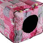 Mkono-Hamster-Guinea-Pig-Bed-Small-Animal-Cage-Supplies-Hammock-House-Hideout-for-Rat-Hedgehog-Ferret-Chinchilla-0-2