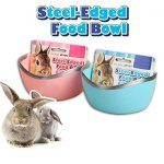 Mkono-Plastic-Cage-Feeder-Food-n-Water-Hay-Bowl-Dish-for-Rabbit-Guinea-Pig-Chinchilla-Hamster-Ferret-Random-Color-0-0