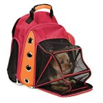 Multiple-Deluxe-Dog-Carrier-Mesh-Travel-Backpack-Double-Shoulders-Straps-Bag-for-Small-Pet-Puppy-Cat-Certified-Refurbished-0