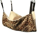 Pelay-Cat-Hanging-Ferret-Pet-Cage-Kitten-Hammock-Bed-Pad-Leopard-Print-Color-0
