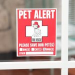 Pet-Rescue-Accessories-Kit-For-All-Pets–Choice-of-Sets-Include-Pet-Emergency-Care-Cards-Safety-Alert-Decals-My-Pet-is-Home-Alone-Keychain-Essential-Supplies-Gifts-for-all-Owners-Lovers-Sitters-Daycar-0-2