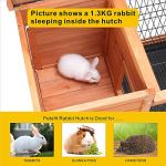 Petpark-Rabbit-HutchWood-Bunny-Cage-House-Rabbit-Cage-Chicken-coop-Pet-Cage-Indoor-for-Small-Animals-0-2