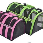 Portable-Pet-Carrier-Bag-Tote-Folding-Soft-Sided-Dog-Cat-Carrying-Cage-Case-Outdoor-Travel-Puppy-Home-House-Breathable-Mesh-Zippered-Pet-Basket-Sling-Handbag-Airline-Approved-0-1