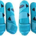 Professional-Equine-Medium-4-Pack-Sports-Medicine-Splint-Boots-Turquoise-41P01C-0