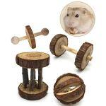 Qauick-5-Pack-Guinea-Pig-Toys-Chinchilla-Hamster-Rat-Chews-Toys-Bunny-Rabbits-Gerbil-Molar-Wooden-0-2