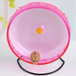 Qin-ChenChen-Hamster-Pet-Exercise-Silent-Wheel-Running-Spinner-Toy-Random-Color-0-0