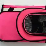 Reelok-Portable-Soft-Sided-Airline-Approved-Dog-Carrier-Pet-Travel-Bag-Pet-Home-Comfortable-Pink-Carrier-for-Cats-Puppies-and-Small-Animals-0-2