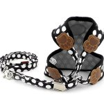SELMAI-Small-Dog-Harness-Vest-Leash-Set-Polka-DotCamo-Mesh-Padded-No-Pull-Leads-for-Puppy-Pet-Cat-0-1