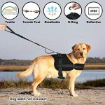 SlowTon-No-Pull-Dog-Vest-Harness-2018-New-Generation-Adjustable-Neck-Strap-and-Chest-Strap-Breathable-Padded-Vest-with-Top-Handle-Harness-with-Locking-Buckle-for-Large-Dogs-Training-Walking-0-0