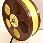 Sugar-GliderHamster-8-Diameter-Exercise-Wheel-Brown-with-Yellow-Track-0