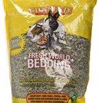 Sun-Seed-Company-SSS18220-Fresh-World-Small-Animals-Phenol-Free-Paper-Bedding-450-Cubic-Inch-Gray-0