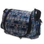 Thailand-Classic-Pattern-Elephant-Style-Puppy-Kitten-Sugar-Glider-Birds-Prairie-dog-Small-Pet-Travel-Cage-Shoulder-Bag-Kennel-Carrier-with-2-Side-Pocket-By-Polar-Bears-Republic-Blue-0