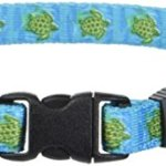 Yellow-Dog-Design-Sea-Turtles-Dog-Collar-Size-X-Small-38-inch-Wide-and-fits-Neck-Sizes-8-to-12-inches-0