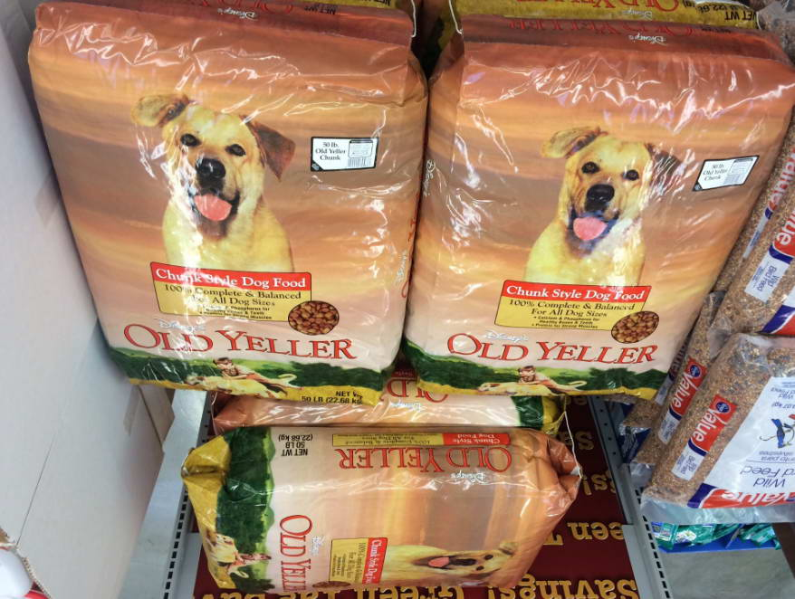 Old Yeller Dog Food
