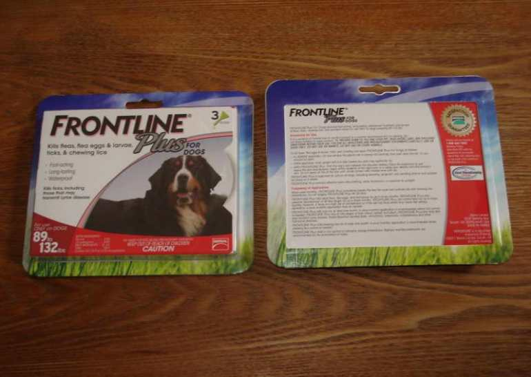 Frontline Plus For Dogs 89 132 Lbs