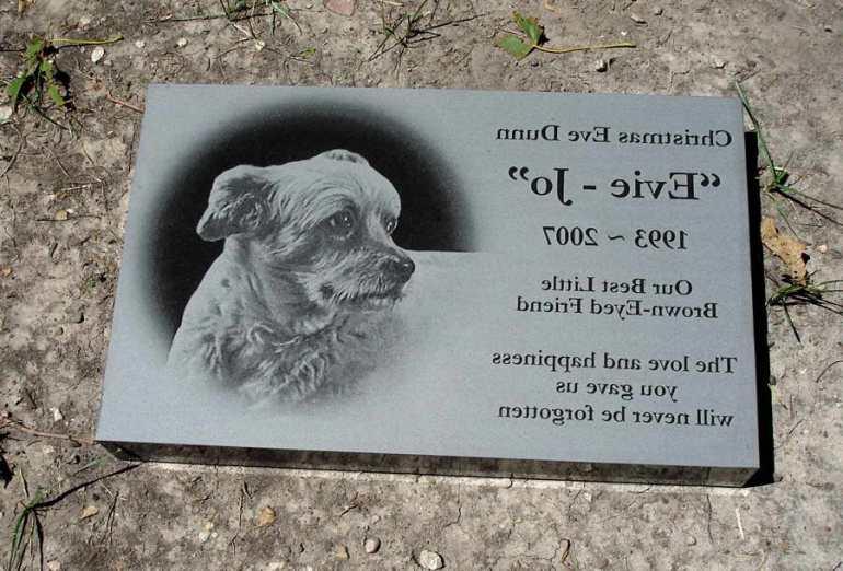Dog Headstones