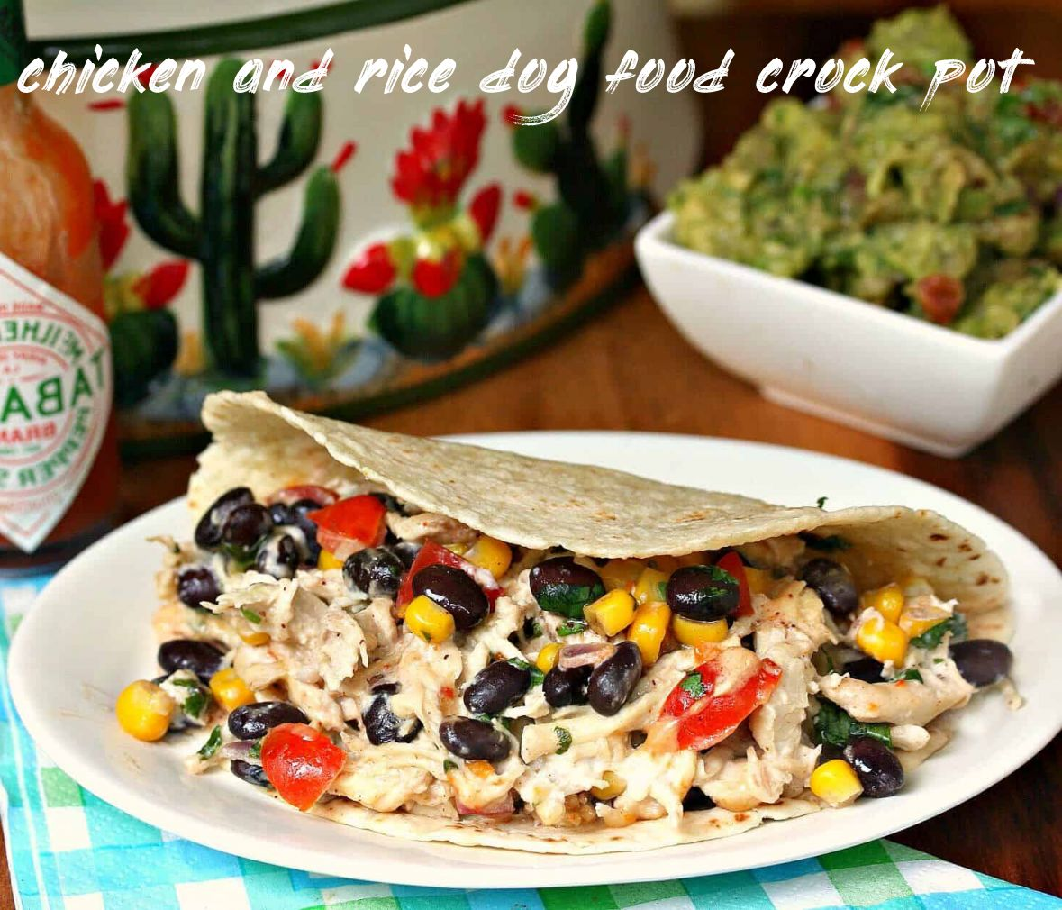 Things you should know about chicken and rice dog food crock pot