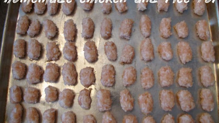 Homemade Chicken And Rice For Dogs