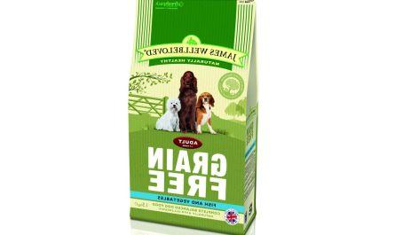 Short information about james wellbeloved dog food grain free