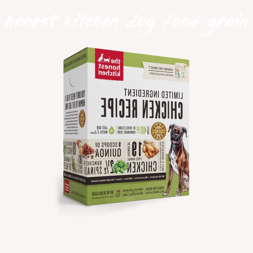 Things you should know honest kitchen dog food grain free