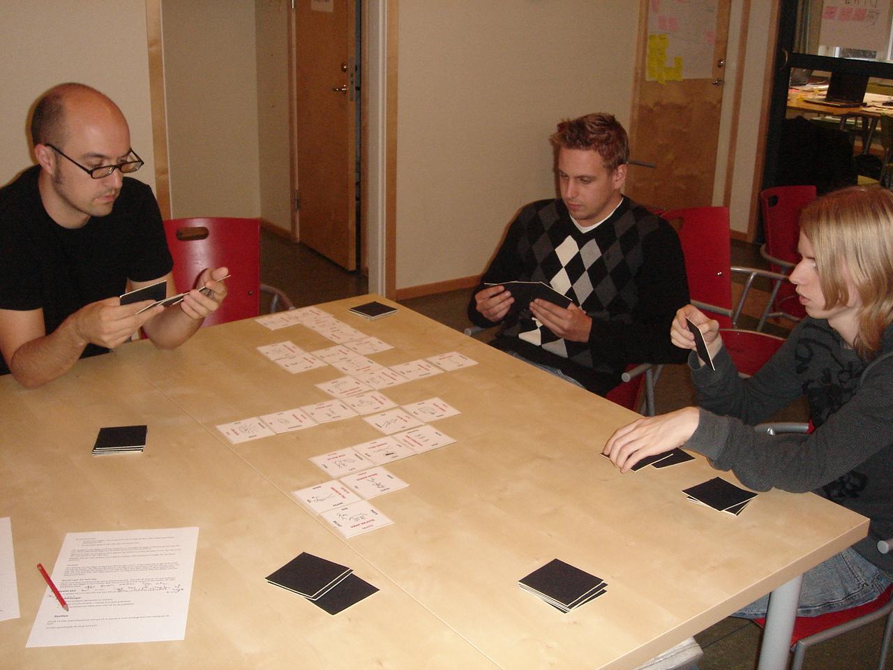 Fyradagarsprojektet: STOR LEK - Färdigt spel 1