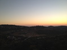 Sundown in the West bank