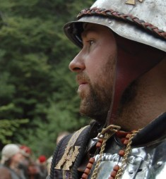 Oberstleutnant Wilfred von Hirschberg. Portrait. Photo: Frida Torkelsson Åhrén