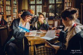 In class. Ingame. Photo: Nadina Wiórkiewicz and Maciek Nitka