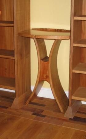 Hourglass Table