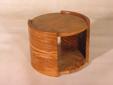 Barrel small low table