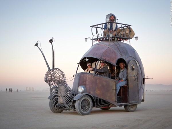 Burning Man Festivalen Nevada Petterssons Sverige Lagom