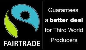 Fairtrade garanterar att de gynnar LO och Svenska Kyrkan