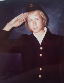 Pettersson i F 11 uniform 1971