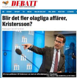 Expressen_Ulf_Kristersson_olagliga_försäljningar