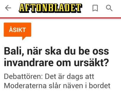 Aftonbladet Oss invandrare