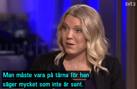 SVT_Carina_Bergfeldt_om_Trump