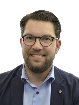 Jimmie Åkesson, Sverigedemokraterna, pressbild Riksdagen