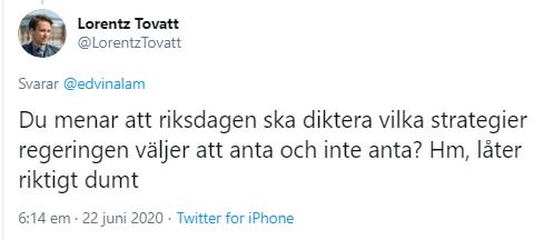 Lorentz_Tovatt_regering_riksdag_