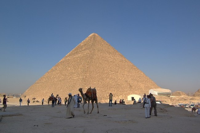Cheops pyramiden Foto Berthold Werner