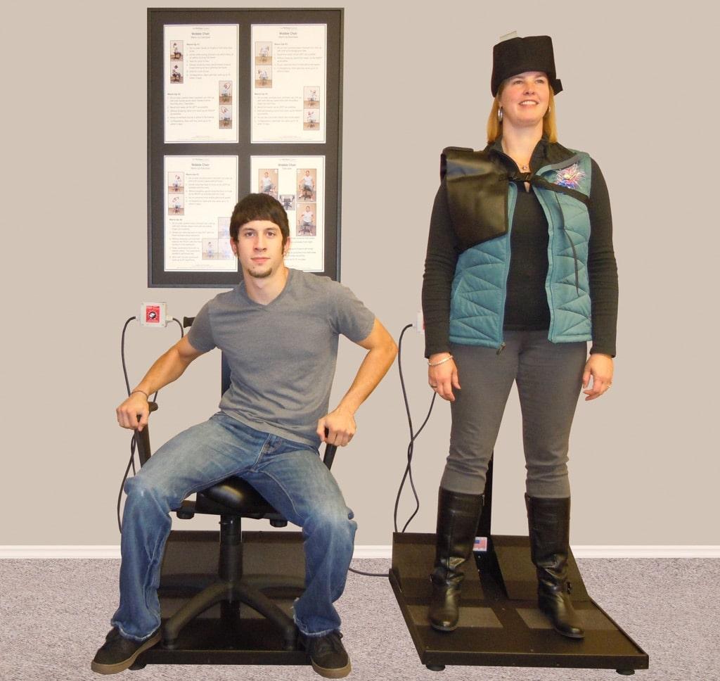 pettibon wobble chair teak lounge with wheels vibration platform the system