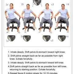 Pettibon Wobble Chair Wooden Swivel Desk Therapeutic The System