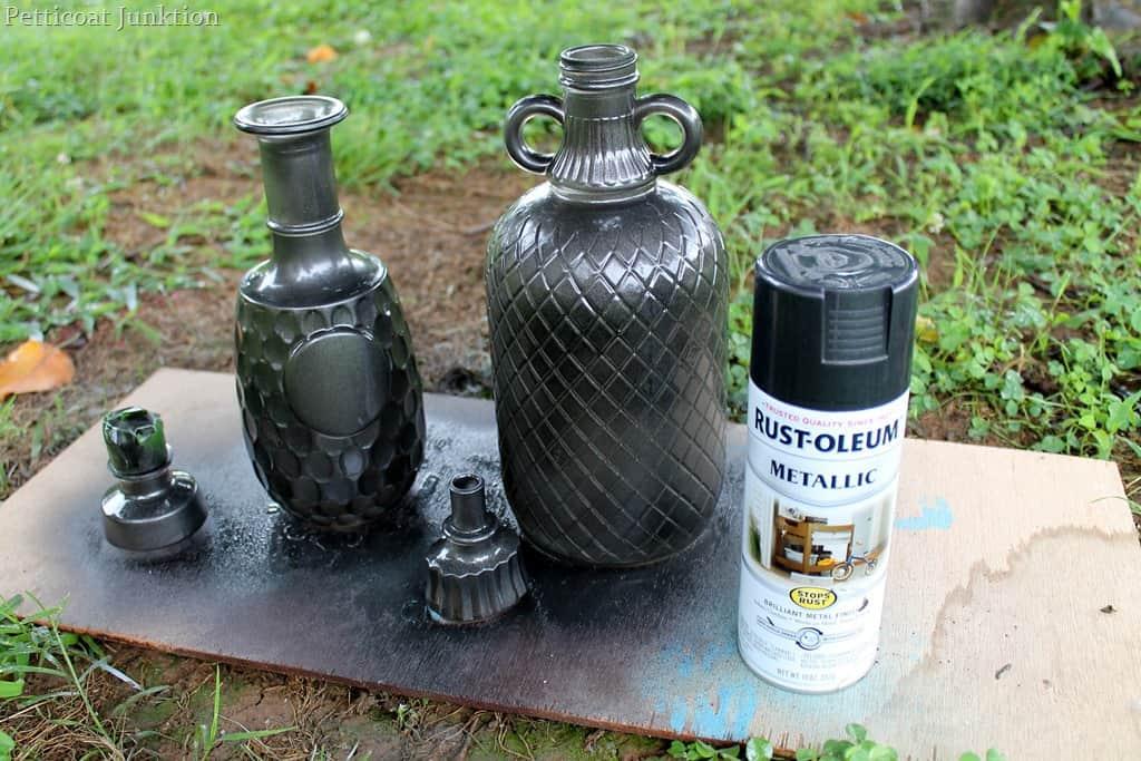 Brushed Bronze Spray Paint