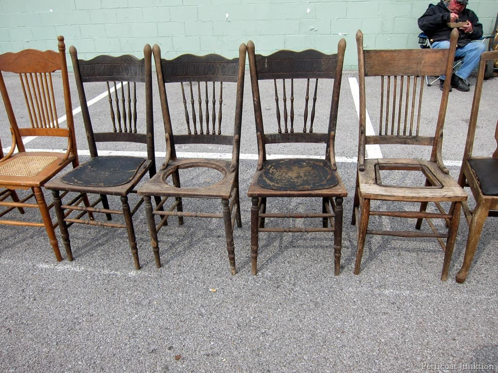 antique wooden chairs pictures garden chair cushions argos count the nashville flea market petticoat junktion
