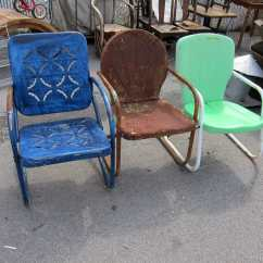 Retro Metal Patio Chairs Revolving Chair Photo Count The Nashville Flea Market Petticoat Junktion