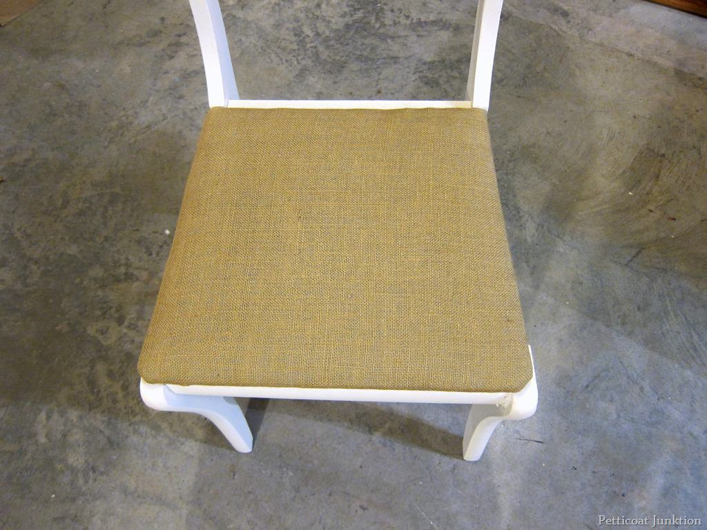 burlap chair covers for folding chairs nantucket beach company how to cover a seat with step by details and photos