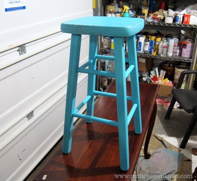 Valspar paint project Petticoat Junktion